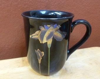 OTAGIRI Golden iris mug Japan