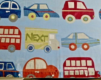 Twin Duvet Covers Cars/Trucks (quantity of 2 matching covers)