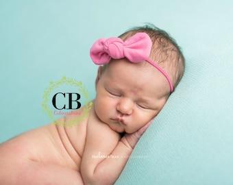 Baby Headbands, Newborn Headband, Baby Bows, Headband, Girl Headband, Newborn Headband, Hairbow, Floral Headband, knot bow, vintage headband
