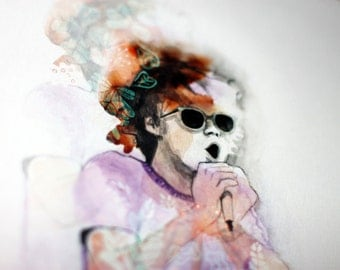 Matt Shultz - mixed media illustration