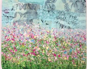Splatter flower Coaster