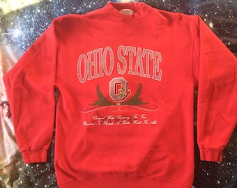 Vintage Over Sized The Ohio State University Buckeyes Sweatshirt