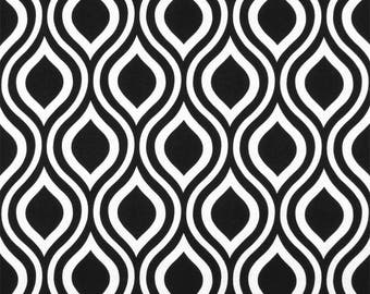 SUMMER SALE! Curtains, Window Treatments, Curtain Panels 24W or 50W x 63, 84, 90, 96 or 108L Emily Black White shown, MORE Colors