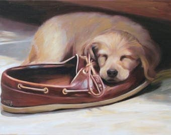Pet Portrait - Pet Painting - Custom Dog Painting from Photo - Custom Pet Portrait - Photo to Painting