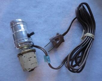 Vintage Unused in Original Box Snapit Lighting Fixture Made in USA, Snapit, Snapit Fixture, Lighting Switch, Unused Lighting Switch, Lab Inc