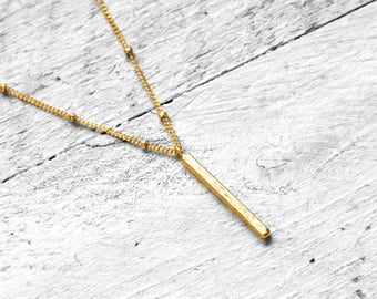 PIPA necklace with crew | gold