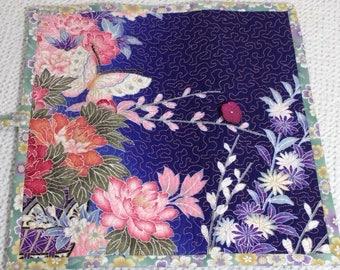 Butterfly Garden Interchangeable Knitting Needle Roll