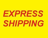 EXPRESS shipping for USA, CANADA and Europe