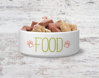 Food Pet Bowl Small or Large Dog Bowl Ceramic Cat Bowl Dish Pet