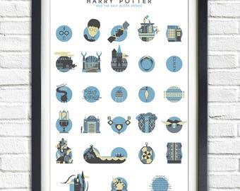 Harry Potter - 6 - The Half-Blood Prince - ALTERNATIVE VERSION - 19x13 Poster