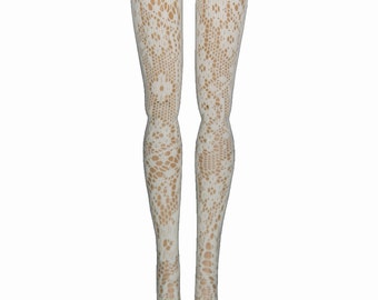 "16"" Tonner Ellowyne Tyler  Antoinette  Marley  DeDe  Miette Doll Stockings - English Lace - Doll Clothes"