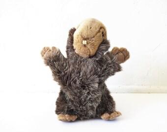 Vintage Steiff Beaver Stuffed Animal