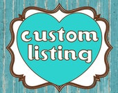 CUSTOM LISTING for (Emily Jaudon)-replacement print