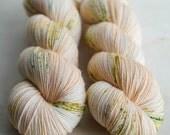 Dyed to Order - Peach Perfect - Hand Dyed Yarn - 100% Superwash or Non-Superwash Merino