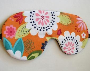 Fun Flowers Sleeping Mask, Adjustable Sleeping eye mask, Eye Mask