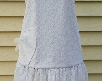 Wedding Dress Apron Brides Apron Wedding Day Bride's Gift Bridal Shower Gift