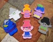 Troll Finger Puppets - FREE SHIPPING