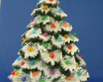 Hand Made Ceramic Lighted Christmas Tree