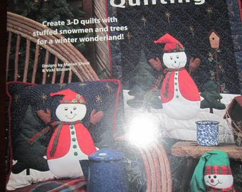 Fun-to-Stuff Snowman Quilting