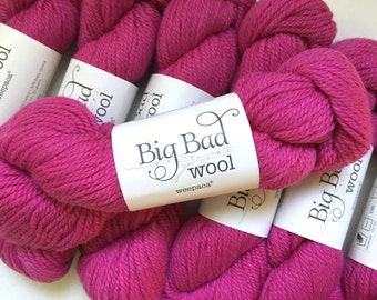 40% Off Weepaca Big Bad Wool Alpaca Merino Wool Girly Girl Pink DK Worsted