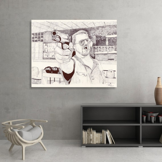 "The Big Lebowski ""Mark it Zero"" Fine art Print"