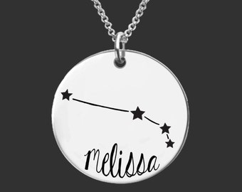 Aries Zodiac Necklace | Aries Constellation Necklace | Astrology Necklace | Zodiac | Personalized Gifts | Korena Loves