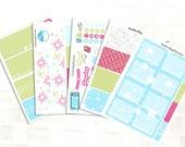 Happy Planner Let It Snow Sticker Kit, Vinyl Stickers, Snow Day