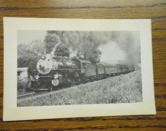 Vintage Dixie Flyer National Railroad Historical Society Excursions Augusta Ga. Railroad Enthusiast Club Train Photo Collectible Ephemera