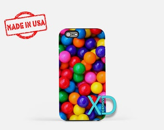 Gumball iPhone Case, Gum iPhone Case, Gumball iPhone 8 Case, iPhone 6s Case, iPhone 7 Case, Phone Case, iPhone X Case, SE Case Protective