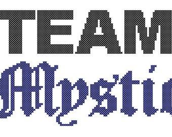 PDF PATTERN Team Mystic Pokemon Go cross stitch