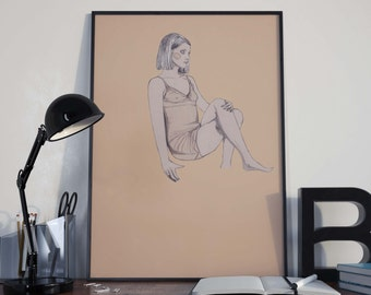 Margot Tenenbaum Print