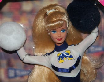 Barbie Special Addition University Barbie Michigan - 1996 - Vintage - University of Michigan - Michigan Wolverines