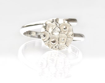 Little Star Dust adjustable sterling silver ring