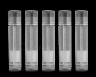 Free Shipping 5,10pcs Empty Clear LIP BALM Tubes Containers Transparent Lipstick CH-238