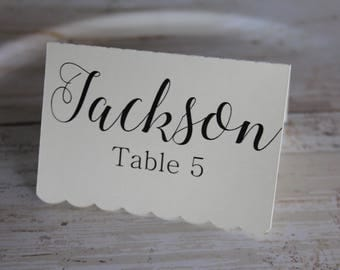 Place Card, Wedding Place Card, Escort Cards, Personalized, Wedding