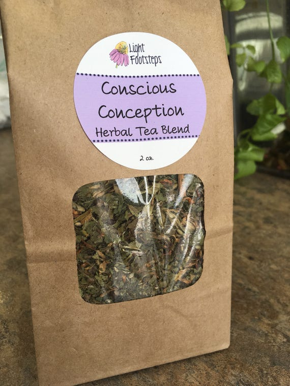 Conscious Conception Herbal Tea ~ Organic Herbal Tea Blend - Homemade - For Ohio Customers Only