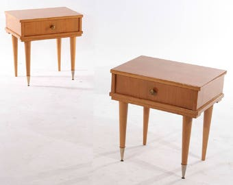 SOLD Pair French Night Stands