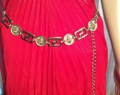 Vintage Gold Anne Klein adjustable link Belt