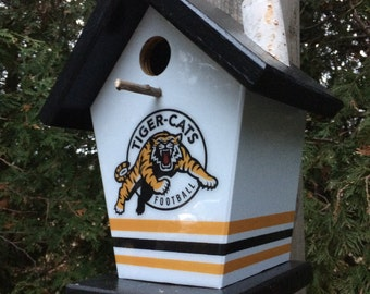 Hamilton Tiger Cats Birdhouse