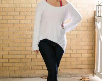 Sydney Slouchy Raglan PDF Pattern/Women's Raglan/Slouchy Sweater Women/Women's Apparel Shirt/Cowled Hood Raglan/Women's Oversized Raglan