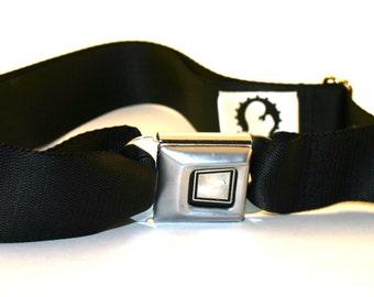 Black Ford Buckle-Up Belt