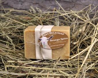 Orange Spice Tea Goat Milk Soap. Orange Tea Goat Milk Soap. Cinnamon Goat Milk Soap. Tea Maineia Goat Milk Soap.