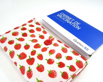 Vaccination record holder Strawberry (simple)