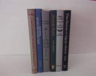Shabby Vintage Decorative Books Decoration - Chic and Shabby Vintage Book Decoration - 6 books Decorative Books