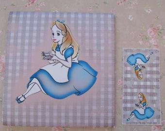 Tea/Seed Bag Envelopes - Cartoon Alice In Wonderland - Drink Me! - Qty of 6 Envelopes