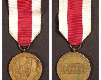 Polish bronze national defense medal
