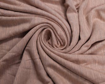 Mauve Slub Printed Sandwash Rayon Fabric by the Yard - Style 705