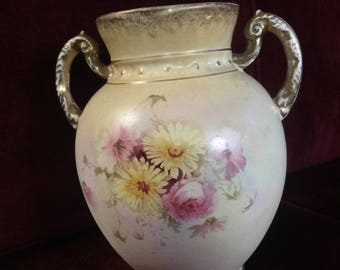 Country English S.F & CO Royal Lorne Floral Vase