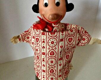 Olive Oyl Vintage Gund Hand Puppet 1957 Popeye King Features