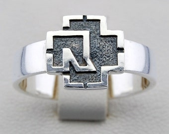 RAMMSTEIN 925 SILVER RING with your size up for order